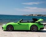 2020 Porsche 911 Carrera S Cabriolet (Color: Lizard Green) Side Wallpapers 150x120 (27)