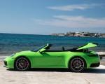 2020 Porsche 911 Carrera S Cabriolet (Color: Lizard Green) Side Wallpapers 150x120 (28)