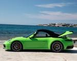 2020 Porsche 911 Carrera S Cabriolet (Color: Lizard Green) Side Wallpapers 150x120 (29)