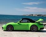 2020 Porsche 911 Carrera S Cabriolet (Color: Lizard Green) Side Wallpapers 150x120 (30)