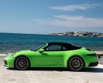 2020 Porsche 911 Carrera S Cabriolet (Color: Lizard Green) Side Wallpapers 150x120 (31)