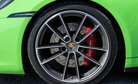 2020 Porsche 911 Carrera S Cabriolet (Color: Lizard Green) Wheel Wallpaper 450x275 (38)