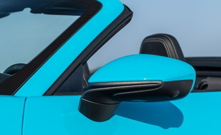 2020 Porsche 911 Carrera S Cabriolet (Color: Miami Blue) Mirror Wallpaper 450x275 (100)