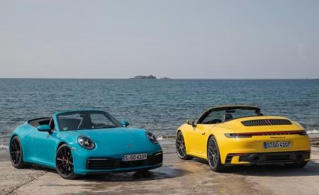 2020 Porsche 911 Carrera S Cabriolet (Color: Miami Blue) Wallpaper 450x275 (114)