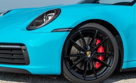 2020 Porsche 911 Carrera S Cabriolet (Color: Miami Blue) Wheel Wallpaper 450x275 (99)