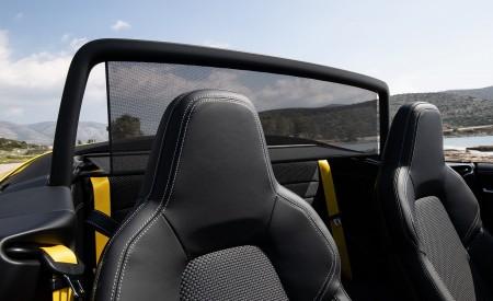 2020 Porsche 911 Carrera S Cabriolet (Color: Racing Yellow) Air Deflector Wallpaper 450x275 (170)