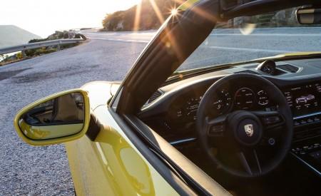 2020 Porsche 911 Carrera S Cabriolet (Color: Racing Yellow) Detail Wallpaper 450x275 (171)