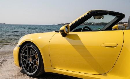 2020 Porsche 911 Carrera S Cabriolet (Color: Racing Yellow) Detail Wallpaper 450x275 (163)