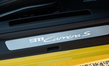 2020 Porsche 911 Carrera S Cabriolet (Color: Racing Yellow) Door Sill Wallpaper 450x275 (169)