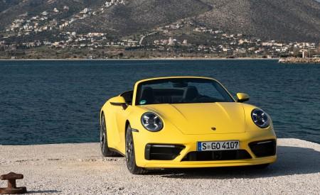 2020 Porsche 911 Carrera S Cabriolet (Color: Racing Yellow) Front Wallpaper 450x275 (154)