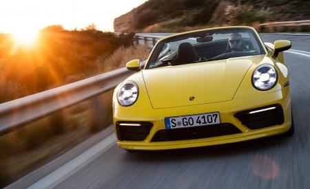 2020 Porsche 911 Carrera S Cabriolet (Color: Racing Yellow) Front Wallpaper 450x275 (126)