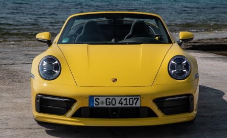 2020 Porsche 911 Carrera S Cabriolet (Color: Racing Yellow) Front Wallpaper 450x275 (155)