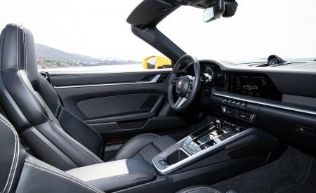 2020 Porsche 911 Carrera S Cabriolet (Color: Racing Yellow) Interior Cockpit Wallpaper 450x275 (175)