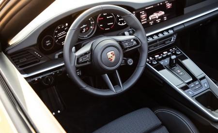 2020 Porsche 911 Carrera S Cabriolet (Color: Racing Yellow) Interior Steering Wheel Wallpaper 450x275 (179)