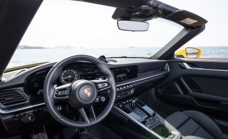 2020 Porsche 911 Carrera S Cabriolet (Color: Racing Yellow) Interior Wallpaper 450x275 (173)