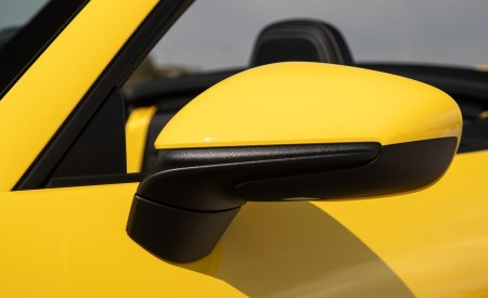 2020 Porsche 911 Carrera S Cabriolet (Color: Racing Yellow) Mirror Wallpaper 450x275 (167)
