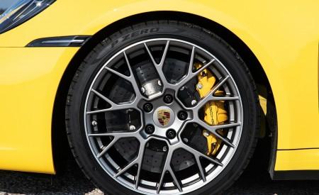 2020 Porsche 911 Carrera S Cabriolet (Color: Racing Yellow) Wheel Wallpaper 450x275 (168)