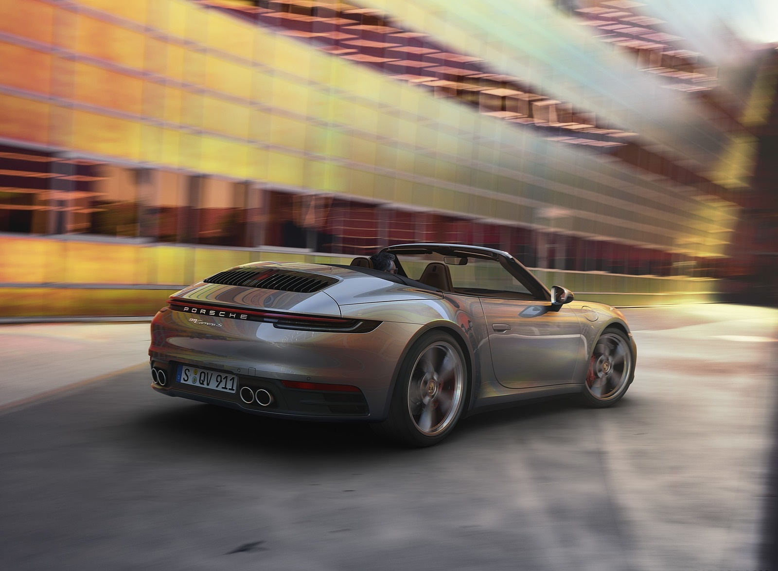 2020 Porsche 911 Carrera S Cabriolet Rear Three-Quarter Wallpaper (13)