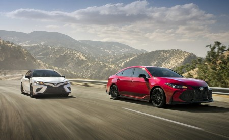 2020 Toyota Avalon TRD And Camry TRD Wallpapers HD