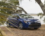 2020 Toyota Corolla Hybrid LE (Color: Blue Crush Metallic) Front Three-Quarter Wallpapers 150x120 (4)
