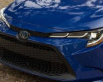 2020 Toyota Corolla Hybrid LE (Color: Blue Crush Metallic) Grill Wallpapers 150x120 (9)