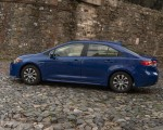 2020 Toyota Corolla Hybrid LE (Color: Blue Crush Metallic) Side Wallpapers 150x120 (7)
