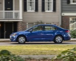 2020 Toyota Corolla Hybrid LE (Color: Blue Crush Metallic) Side Wallpapers 150x120 (3)