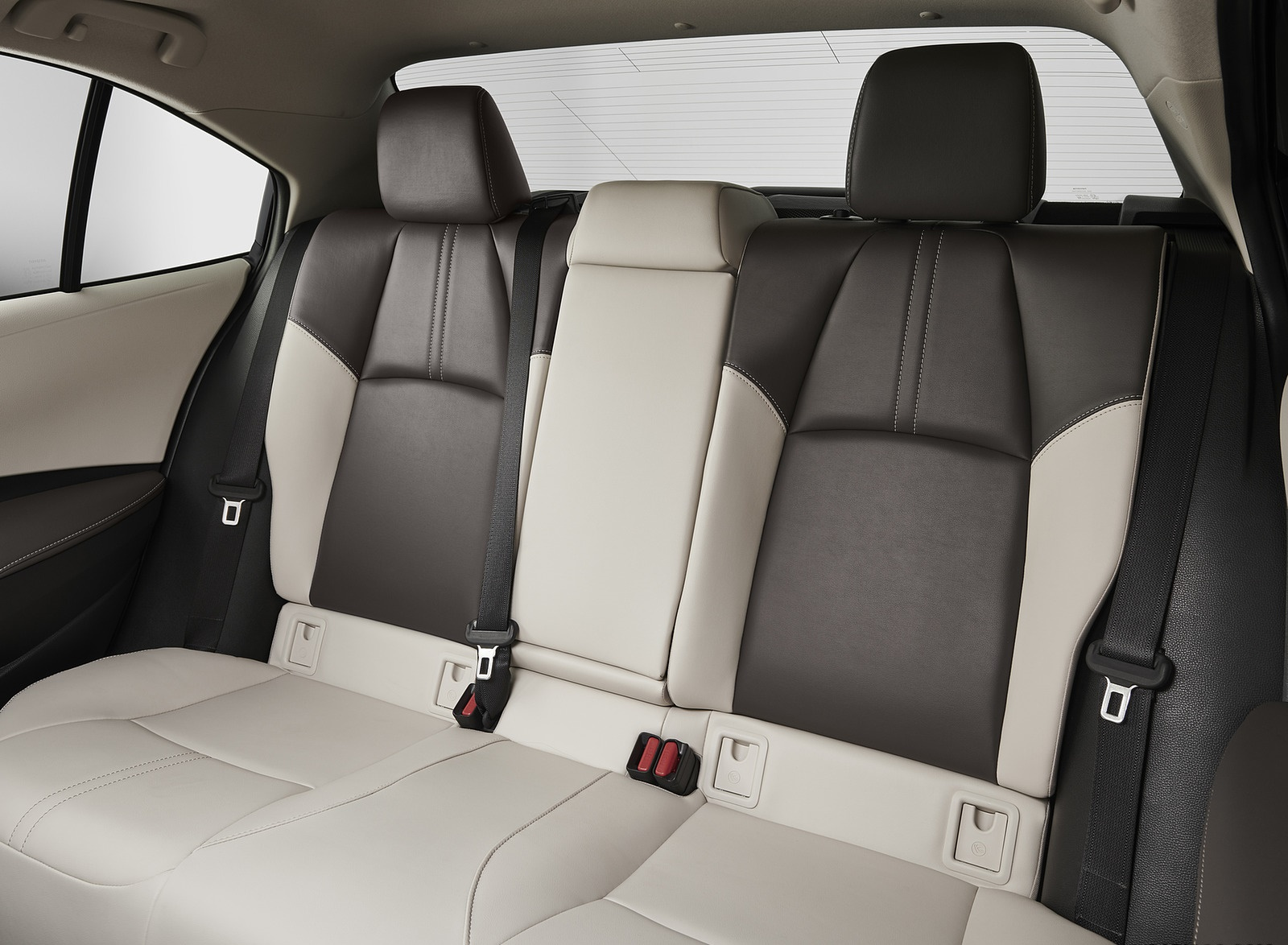 2020 Toyota Corolla XSE Interior Rear Seats Wallpapers (15)
