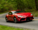2020 Toyota Supra (Color: Renaissance Red) Front Three-Quarter Wallpapers 150x120 (8)