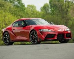 2020 Toyota Supra (Color: Renaissance Red) Front Three-Quarter Wallpapers 150x120 (7)