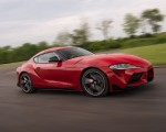 2020 Toyota Supra (Color: Renaissance Red) Front Three-Quarter Wallpapers 150x120 (3)
