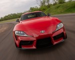 2020 Toyota Supra (Color: Renaissance Red) Front Wallpapers 150x120 (2)