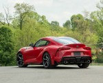 2020 Toyota Supra (Color: Renaissance Red) Rear Three-Quarter Wallpapers 150x120 (9)