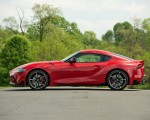 2020 Toyota Supra (Color: Renaissance Red) Side Wallpapers 150x120 (11)
