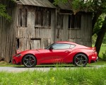 2020 Toyota Supra (Color: Renaissance Red) Side Wallpapers 150x120 (10)
