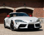 2020 Toyota Supra Launch Edition (Color: Absolute Zero) Front Three-Quarter Wallpapers 150x120 (36)