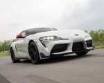2020 Toyota Supra Launch Edition (Color: Absolute Zero) Front Three-Quarter Wallpapers 150x120 (30)