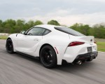 2020 Toyota Supra Launch Edition (Color: Absolute Zero) Rear Three-Quarter Wallpapers 150x120 (33)
