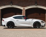 2020 Toyota Supra Launch Edition (Color: Absolute Zero) Side Wallpapers 150x120 (38)