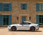 2020 Toyota Supra Launch Edition (Color: Absolute Zero) Side Wallpapers 150x120 (34)