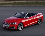 2018 Audi S5 Cabriolet (Color: Misano Red) Front Three-Quarter Wallpaper 150x120 (15)