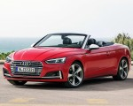 2018 Audi S5 Cabriolet (Color: Misano Red) Front Three-Quarter Wallpaper 150x120 (11)