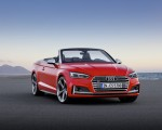 2018 Audi S5 Cabriolet (Color: Misano Red) Front Three-Quarter Wallpaper 150x120 (16)
