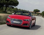 2018 Audi S5 Cabriolet (Color: Misano Red) Front Three-Quarter Wallpaper 150x120 (5)