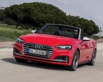 2018 Audi S5 Cabriolet (Color: Misano Red) Front Wallpaper 150x120 (7)