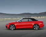 2018 Audi S5 Cabriolet (Color: Misano Red) Side Wallpaper 150x120 (12)