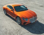 2018 Bentley Continental GT (Color: Orange Flame) Front Three-Quarter Wallpapers 150x120 (15)