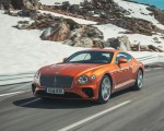 2018 Bentley Continental GT (Color: Orange Flame) Front Three-Quarter Wallpapers 150x120 (2)