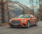 2018 Bentley Continental GT (Color: Orange Flame) Front Three-Quarter Wallpapers 150x120 (3)
