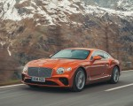 2018 Bentley Continental GT (Color: Orange Flame) Front Three-Quarter Wallpapers 150x120 (4)